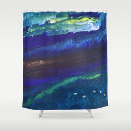 Rolling In Shower Curtain