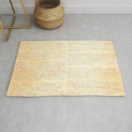 Jane Austens Letter to her sister Cassandra Rug