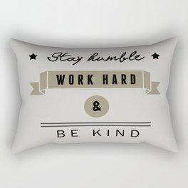 At work Rectangular Pillow
