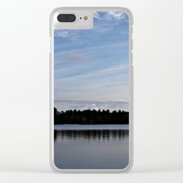 Calm Waters Clear iPhone Case