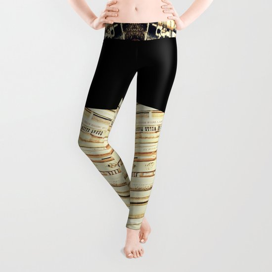 books Leggings