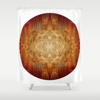 infinite Shower Curtains featuring Infinite by Jetter Green