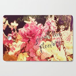 Smell the Flowers Cutting Board