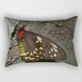 Birdwing Butterfly Rectangular Pillow
