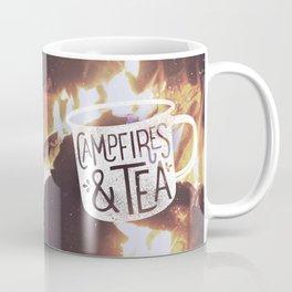 Campfires & Tea Coffee Mug