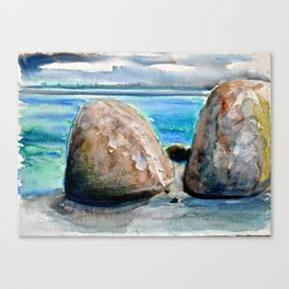 White Point Beach - Roger Savage Workshop Canvas Print