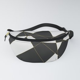 Polygon Abstract Fanny Pack