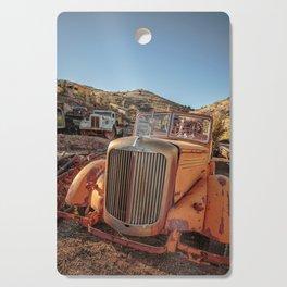 Jerome Arizona Old Trucks Cutting Board
