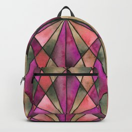 Stained Glass - Magenta Backpack