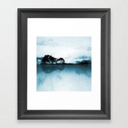 Nature Guitar Blues Framed Art Print