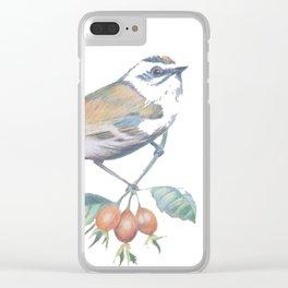 Little Snowbird #bird Clear iPhone Case