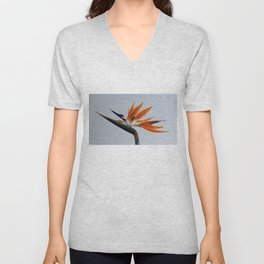 The bird of paradise flower Unisex V-Neck