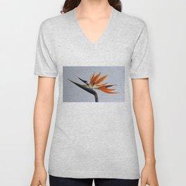 The bird of paradise flower Unisex V-Neck