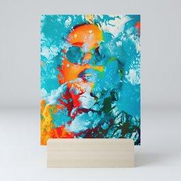 Sana, the colorful woman Mini Art Print