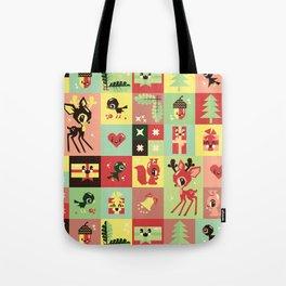 Christmas Geometric Pattern No. 2. Tote Bag
