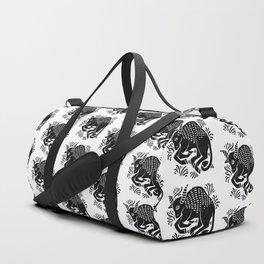 taurus zodiac Duffle Bag