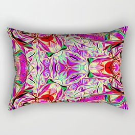 Metatronic Light Design Rectangular Pillow
