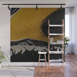 Golden river Wall Mural