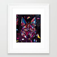 coyote Framed Art Prints featuring COYOTE by drasik