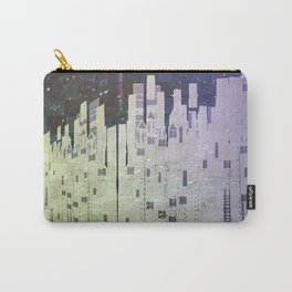On The Spatial Grid Carry-All Pouch