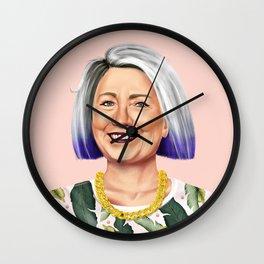 Hipstory - Hillary Clinton Wall Clock