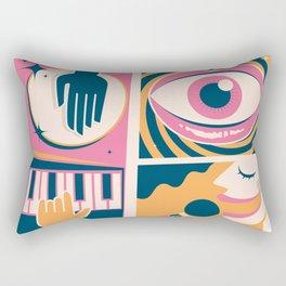 Bossa Nova Cuca Fresca Rectangular Pillow