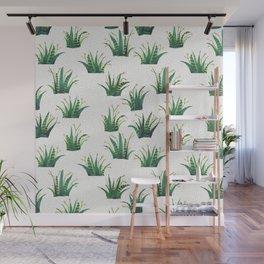 Field of Aloe Wall Mural