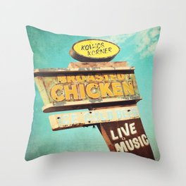 Kovacs Korner Throw Pillow