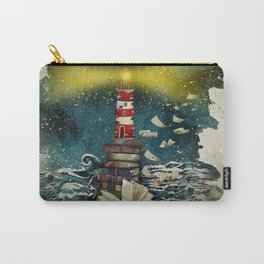the sea is poetry Carry-All Pouch