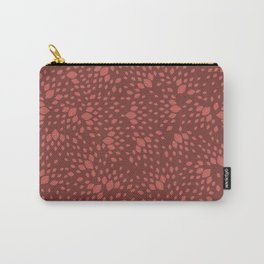 Veggie Print Carry-All Pouch