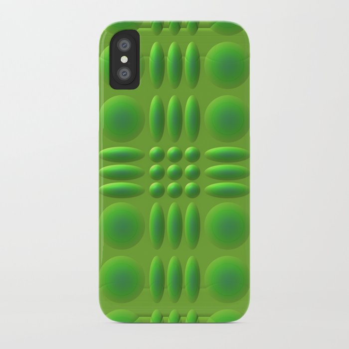 Puffy Green iPhone Case