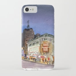 Shubert Theatre Hello Dolly Marquee iPhone Case