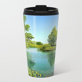 Aqua Lake Travel Mug