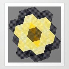 Tiling II Art Print