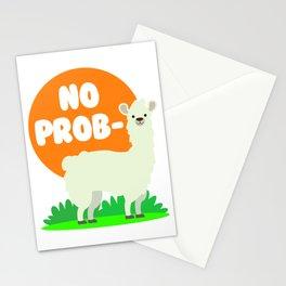 No Prob-Llama - No Problem Llama Stationery Cards