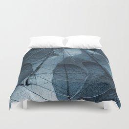 blue leaf III Duvet Cover