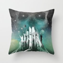 Expansion Volume VI Poster Throw Pillow