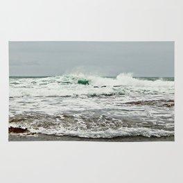 Sea Breaks on the Tidal Shelf Rug