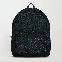 Enchanted Forest Mandala Backpack