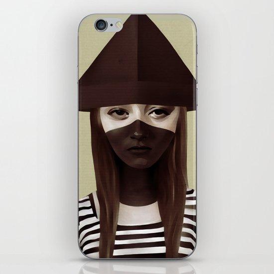 Ceci n'est pas un chapeau iPhone & iPod Skin