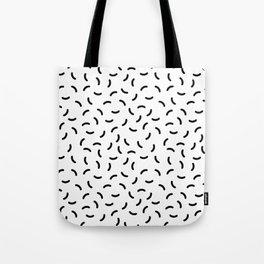 Memphis pattern 36 Tote Bag