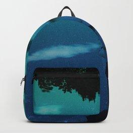 Blue dream night girl Backpack