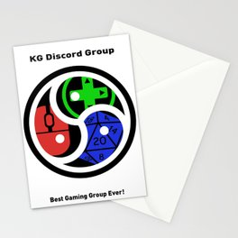 KG Discord Group Emblem Stationery Cards
