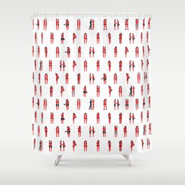 Love Everyday(small) Shower Curtain