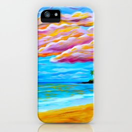Pāʻia Bay Sunrise iPhone Case