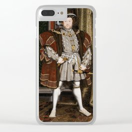 Henry VIII of England Clear iPhone Case