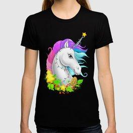 Xmas Unicorn T-shirt