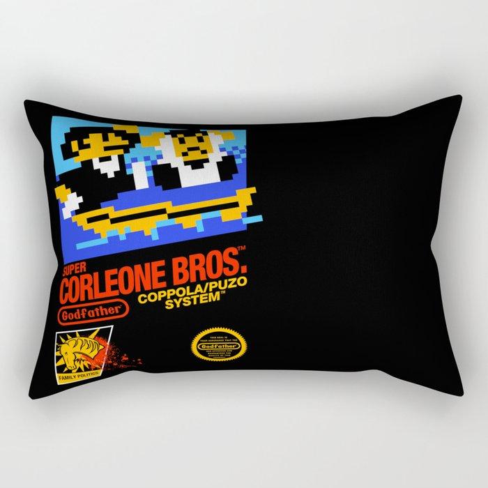 Super Corleone Bros Rectangular Pillow