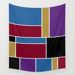 Abstract #419 Wall Tapestry