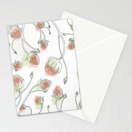 Fraises Stationery Cards